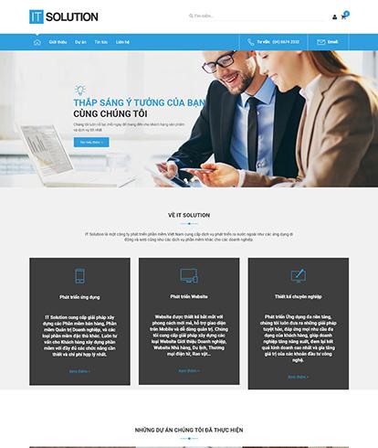 Thiết kế Website tin tức IT Solution