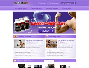 Thiết kế website y tế 3