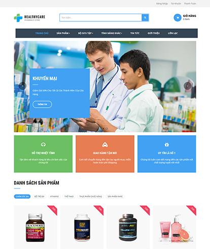 Thiết kế website y tế Ap Heathy Care