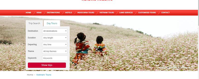 5 tiêu chí giúp website du lịch thành công