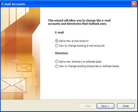 Hướng dẫn cài đặt web email trong Outlook Express