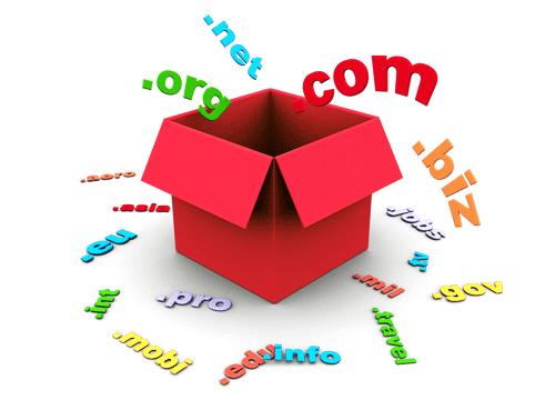 Tôi được đăng ký domain với tên mở rộng là gì ?