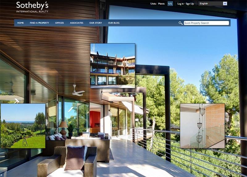 Các mẫu website bất động sản mới nhất
