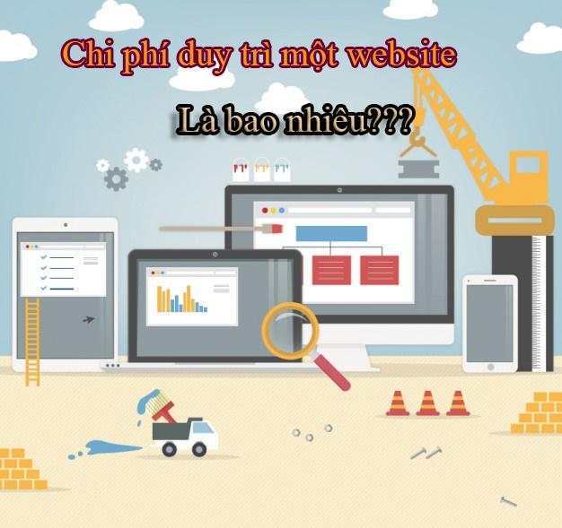 Chi phí duy trì một website là bao nhiêu?