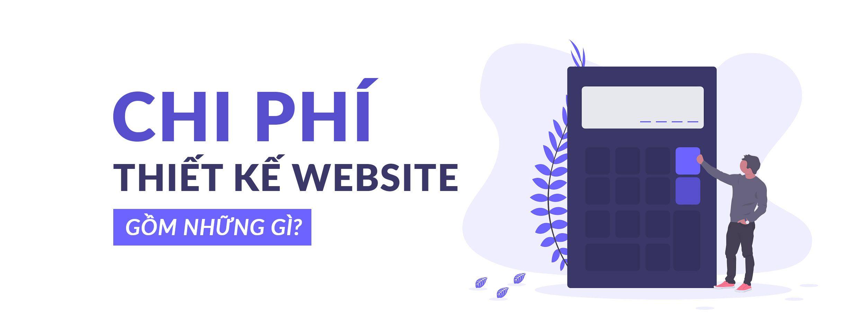 Chi phí thiết kế website