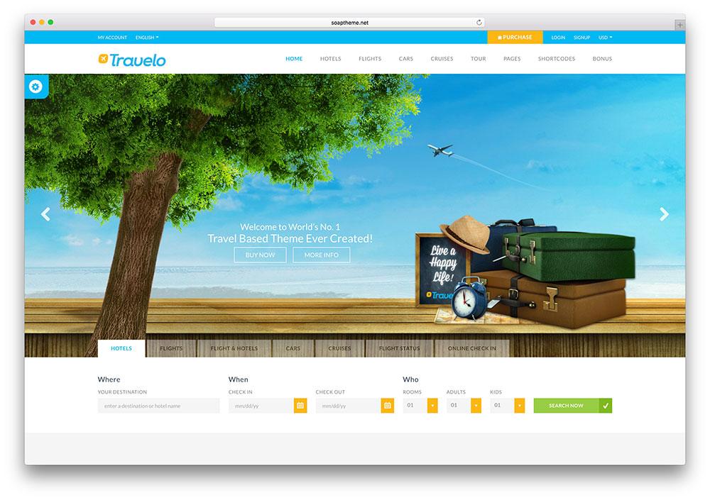 Tổng hợp những mẫu website du lịch chuyên nghiệp