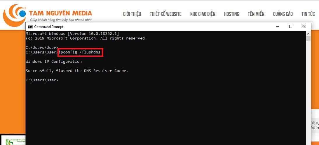 Hướng dẫn Xóa cached DNS trên máy tính