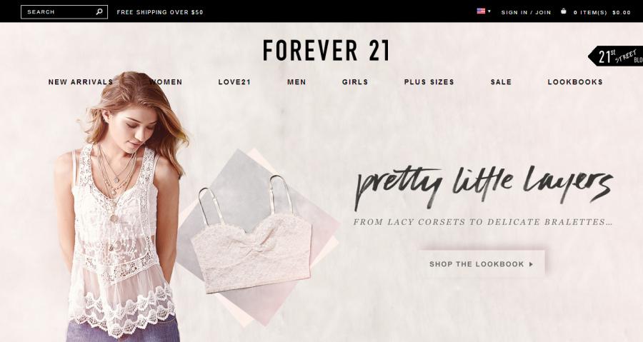 Những sai lầm cần tránh khi thiết kế website thời trang