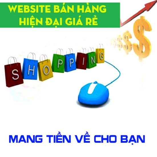 Thiết kế website bán hàng hiện đại sở hữu trọn đời
