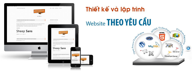 Thiết kế website bán hàng theo yêu cầu