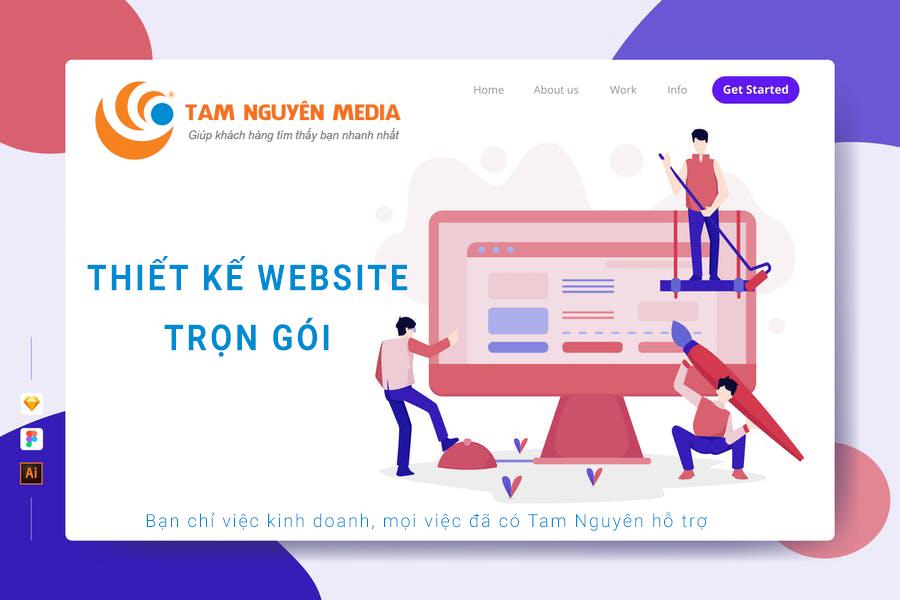 Thiết kế website trọn gói tại Tam Nguyên