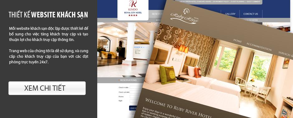 mẫu thiết kế website khách sạn đẹp
