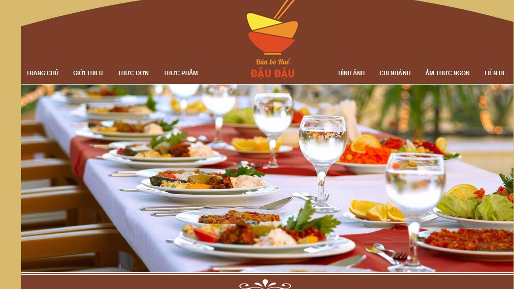 Yếu tố quan trọng khi thiết kế website nhà hàng