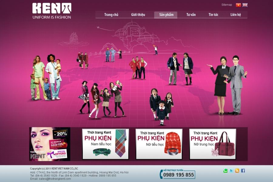 Bí quyết thiết kế website thời trang thành công