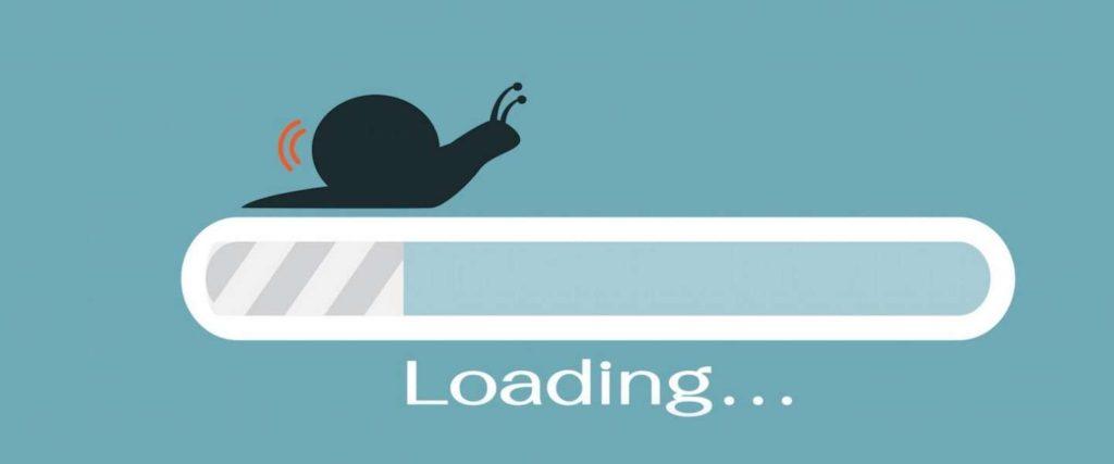 Tốc độ load website chậm khiến người dùng khó chịu
