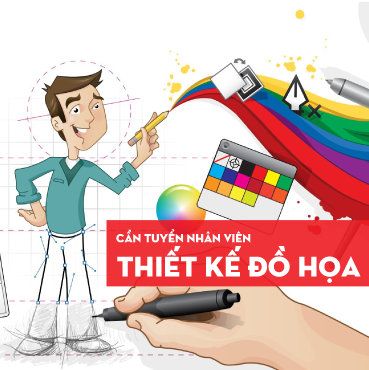 Tuyển nhân viên thiết kế đồ họa website