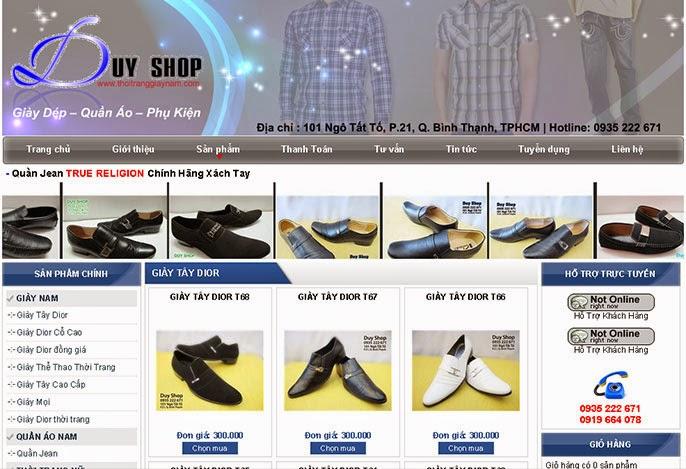 Các chức năng của một website bán giày dép chuyên nghiệp