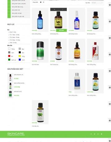 Danh sách sản phẩm